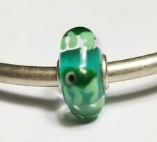Authentic Trollbeads unique ooak turtle critter, glass