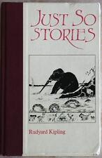 JUST SO STORIES ~ RUDYARD KIPLING ~ FOLIO SOCIETY ~ ILLUSTRATED ~ NO SLIPCASE