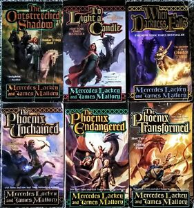 The Obsidian and The Enduring Flame Trilogy by Mercedes Lackey and James Mallory
