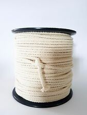6mm 50m Braided Cotton Cord Macrame Natural Cotton Rope Twisted cotton rope