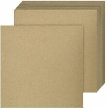 Square Brown Chipboard | 30Pt. Thick Cardboard | 25 Sheets | Eco-Friendly