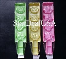 Cookies Molds Set of 3 Snow Flaked Cake Molds, Khuon Banh Phuc Linh , NL-PL4B3A