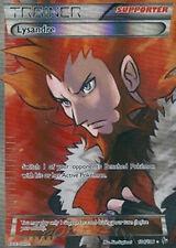Pokemon XY Flashfire Lysandre 104/106 Super Rare Holo Card