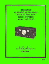 Operation And Service Manual Hallicrafters S-17 And Sx-17 Receivers