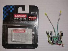 Carrera Digital 132  Decoder 26743 Blinklicht Farbe nach Wunsch - Neu mit OVP