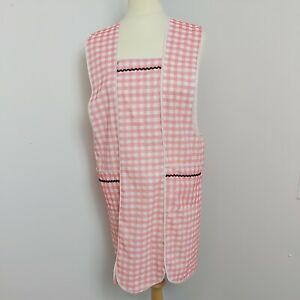 VINTAGE  size M Polyester  OVERALL PINNY APRON HOUSEWORK  SISSY