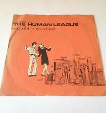 "Human League - Being Boiled   7"" vinyl single"