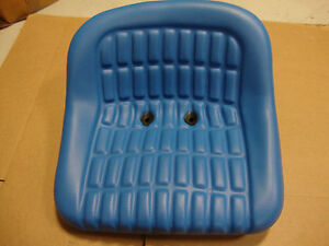 2000 2600 2610 3000 3600 3610 4000 5000 6600 FORD TRACTOR SEAT BLUE VINYL 🎯