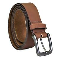 Timberland Men's 35 MM Classic Jean Leather Belt Brown