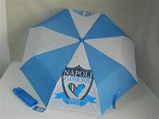 Ombrello Ombrellino pioggia bambini ragazzi squadra NAPOLI Azzurro T589