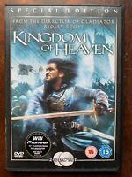 Kingdom Of Cielo DVD 2005 Cruzadas Religioso Epic Drama Película de Cine 2-Discs