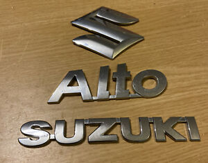SUZUKI ALTO REAR Badge Logo Emblem 7781163J00 (D4)