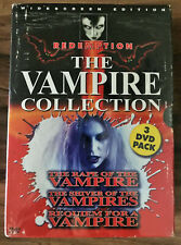 JEAN ROLLIN's THE VAMPIRE COLLECTION 3DVD Box Set Redemption OOP NEW SEALED