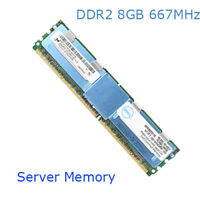 For Micron 32GB 4X8GB PC2-5300F DDR2-667MHz ECC FBD 240Pin Memory Registered RHN