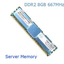 For Micron 32GB 4X8GB PC2-5300F DDR2-667MHz ECC FBD 240Pin Memory Registered RHN