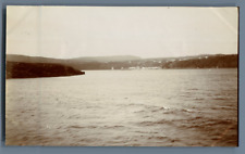 UK, Scotland, Loch Ness Vintage citrate print. Vintage Scotland.  Tirage citra