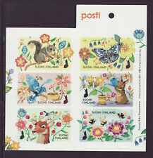 Finland 2021 MNH - Let's Take Care - booklet of 6 stamps