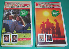 Teens in Crisis 2 vhs videos-Relationships with Parents & Opposite Sex-M Mosley