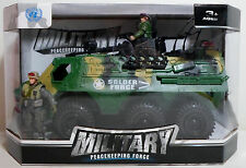 SOLDIER FORCE UN MILITARY APC VEHICLE DETAILED FOR GI JOE FIGURES FRICTION POWER