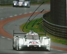 Nico HULKENBERG SIGNED Autograph Le Mans 24hr Winner 10X8 Photo AFTAL COA (E)