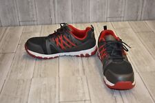 Reebok Work Sublite Work Shoes - Men's Size 13M Gray/Red