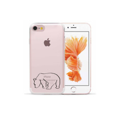 case cover case for Apple Iphone 7 / 8 Transparent silicone polar bear