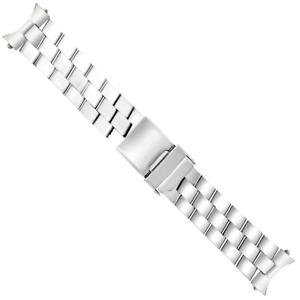 20MM WATCH BAND BRACELET FOR BREITLING COLT II CHRONOMAT CHRONOGRAPH STEEL SHINY