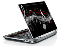 LidStyles Printed Vinyl Laptop Skin Protector Decal Dell Latitude E6320