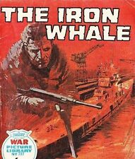 A Fleetway War Picture Library Pocket Comic Book Magazine #737 IRON WHALE