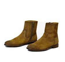 Ariat Jefferson Side Zip Boots - Teak Suede - 11 D - Barely Worn