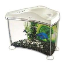 Marina Betta Aquarium Fish Tank Kit White 7L