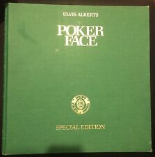 Poker Face First Edition Book By Ulvis Alberts Special Edition