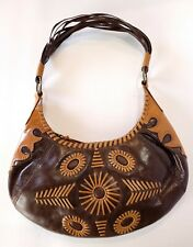 BCBGirls Light/Dark Brown Handbag R