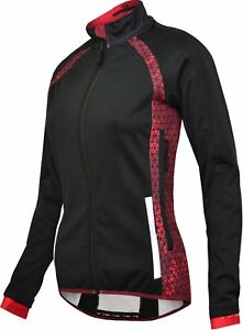 Cycling Jacket Funkier Tornado Ladies Pro Black/Merlot WJ-1328 Due August XLarge