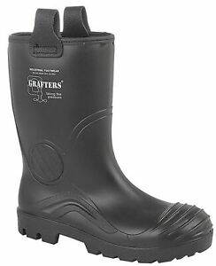 Mens Waterproof Full Safety Thermal Warm Lined Rigger Work Boots Shoes Size