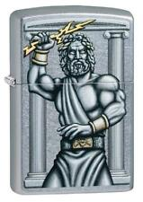 Zippo Accendino Zeus 49137 Antivento Ricaricabile Lighter Briquet Feuerzeug E...
