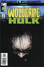 2002 WOLVERINE HULK #1 ( SAM KIETH ) MARVEL COMICS  FINE