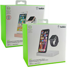 Belkin Valet Lightning USB Charging Dock Stand Apple iPhone Smart Watch Charger