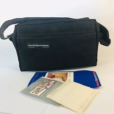 Vintage OE Tenba Polaroid Spectra System Onyx Camera Bag Carrying Case w/ Strap