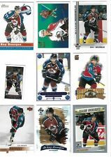 VARIOUS MIXED LOT UPPER DECK PACIFIC UD RAY BOURQUE INSERT BASE UD AVALANCHE
