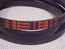 GATES HI POWER II V- BELT 9005-2128, D128, V80, MADE IN USA