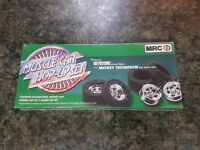 MCR 1/25 Muscle Car Hop-Up Set Keystone Wheels & Micky Thompson Tyres Very Rare