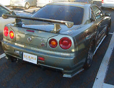 Nissan Skyline R34 Nismo Z-tune Style Rear Bumper Spats for Body Kit V6