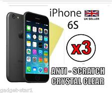 """3x HQ ULTRA CLEAR SCREEN PROTECTOR COVER GUARD FILM FOR APPLE IPHONE 6S 4.7"""""""