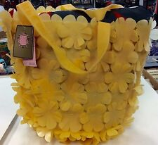 Juicy Couture PVC Yellow Flower Tote