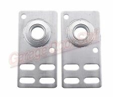 Garage Door End Bearing Plates- 1 Pair Adjustable