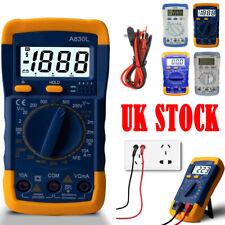 Digital LCD Multimeter Voltmeter Current OHM DC AC Ammeter Tester Buzzer Circuit