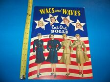 Wacs & Waves Paper Dolls /  2001 Shackman Company