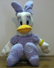 """Disney Store Daisy Duck With Ponytail 18"""" Plush Doll - House of Mouse"""