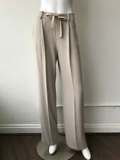 Vince Taupe Grey Trousers Pants Wide Leg Size XS High Waist